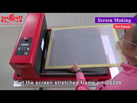 Digital Screen Making for T shirt, T-Shirt screen printing and easy registration