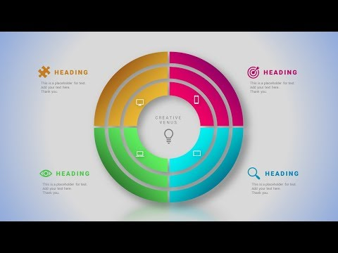 How To Design Circle Chart Infographic in Microsoft Office PowerPoint PPT.
