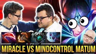 MIRACLE Phantom Assassin  vs MATUMBAMAN & MIND CONTROL - MERCY PLZ Dota 2