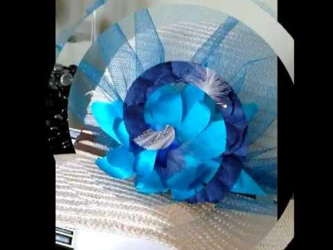 Hair Accessories Silk flowers Fascinators