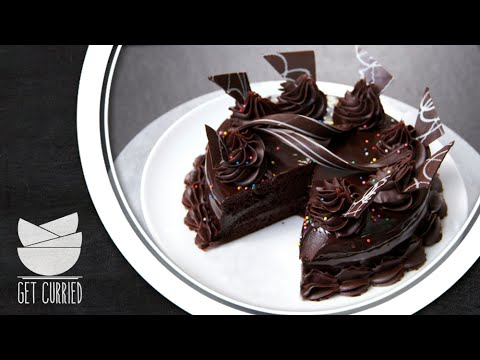 Layered Chocolate Truffle Cake - Today's Special With Shantanu