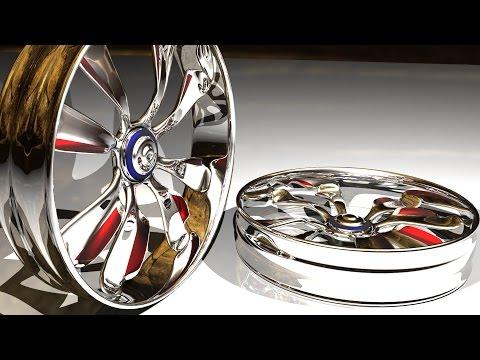Maya tutorial: How to model car rims