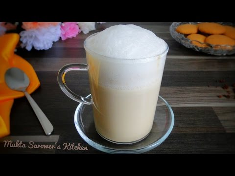 How to Make Cappuccino Coffee at Home (without a Coffee Machine)|| Beaten Coffee
