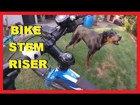 Installing Bike Stem Riser - Fast & Easy -Jonny DIY
