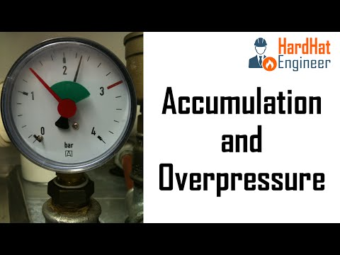 What is the Difference between Overpressure and Accumulation?
