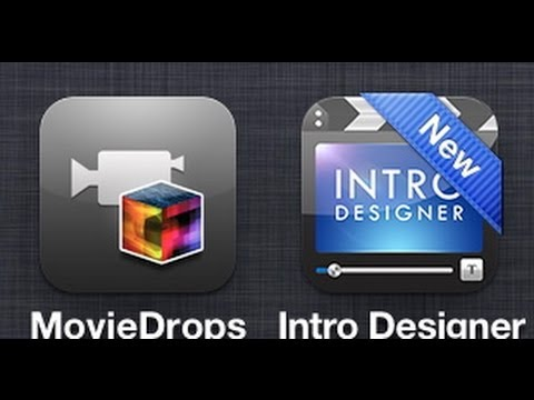 How to make Awesome intros for imovie using iphone apps.