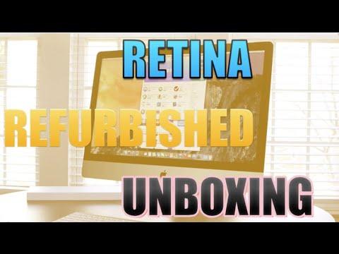 iMac 5KRetina Refurbished Unboxing