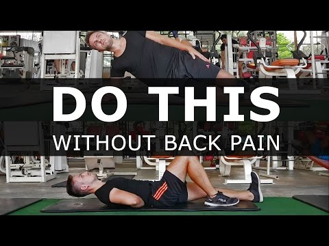 Abs Workout Without Back Pain (Works Like a Magic!)
