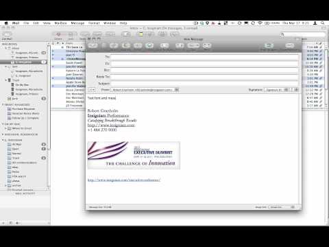 How to Change the Default Font in Apple Mail 2011-04-17