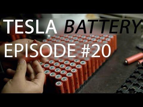Making a DIY Tesla Battery - eSamba DIY EV conversion