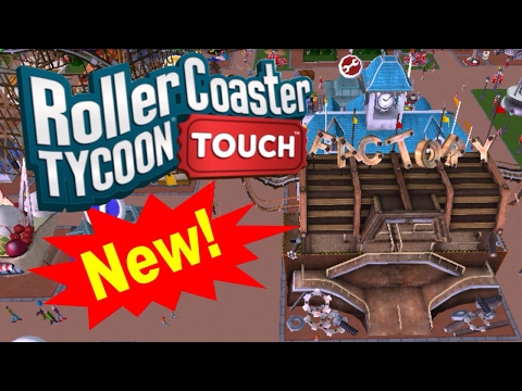 The Steel Roller Coaster!!! | RollerCoaster Tycoon Touch | RCT Tough