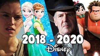 Upcoming Walt Disney Movies (2018-2020) - Frozen 2, Star Wars Episode IX