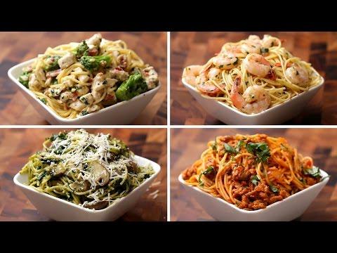Spaghetti 4 Ways