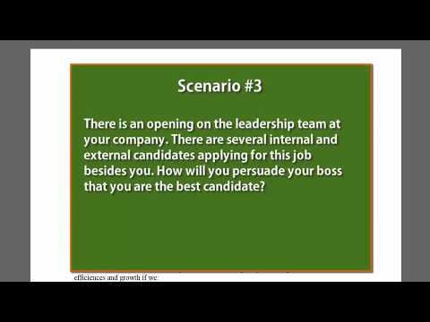 How to Write a Persuasive Business Memo: Scenario #3 (Internal Job Application)