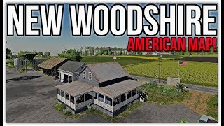 Follow Me & New Woodshire Map first look + ModHub Update | Farming