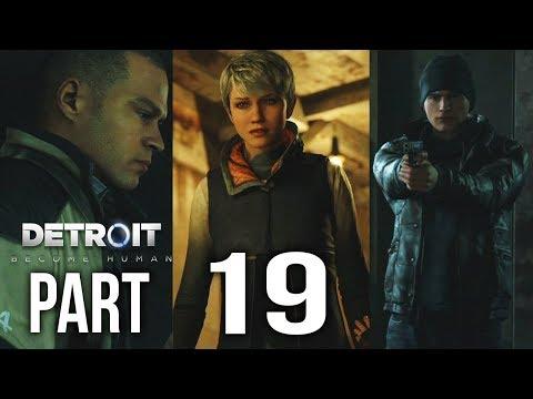 DETROIT BECOME HUMAN Part 19 | CROSSROADS 2 (INTENSE!) | Gameplay Walkthrough