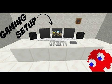 Minecraft: How to make a Gaming Setup