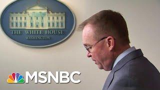 Mulvaney: Tries To Walks Back That Trump Held Up Ukraine Aid For Political Reason | Hardball | MSNBC