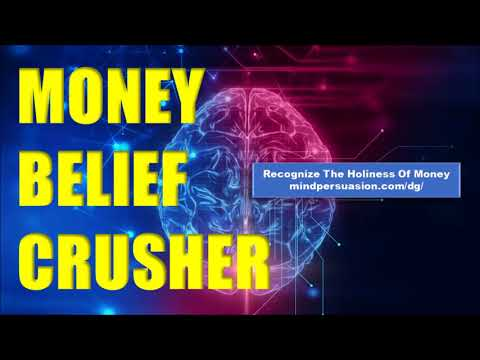 Money Belief Crusher - Remove Limiting Beliefs About Money - Subliminal Affirmations
