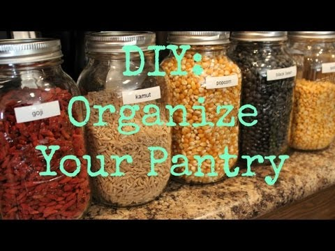 ♡ How To: Organize Your Pantry ♡