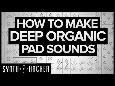 How To Make Deep Organic Pads Like RUFUS / Flume / ODESZA (Serum Tutorial)