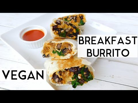 Back to School Breakfast Idea VEGAN Breakfast Burritos   Plantifully Based