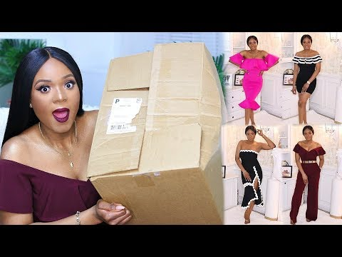 EPIC TRY-ON FASHION HAUL FT. HOTMIAMISTYLES | OMABELLETV