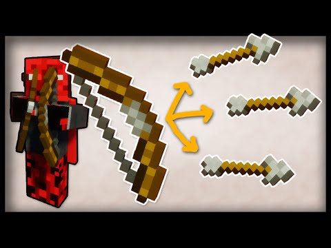 The Minecraft SUPERBOW - Shoot Multiple Arrows from 1 Bow (Command Block Tutorial)