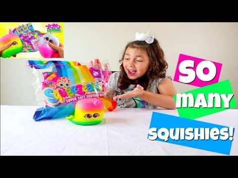 HUGE SQUISHY PACKAGE! JUMBO + SUPER SLOW RISING SQUISHIES!