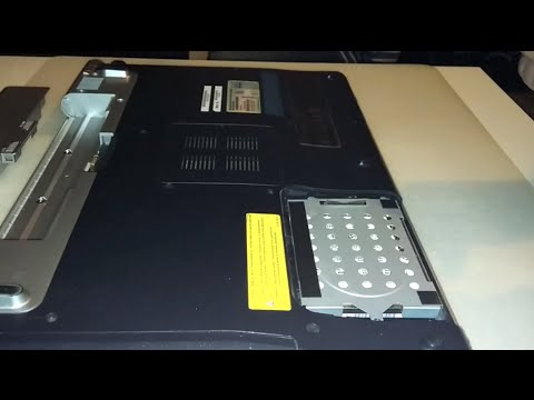 Hard Disk and Ram replacement on Sony Vaio vgn-fw41e