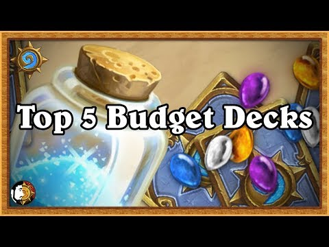 Hearthstone: Top 5 Best Budget Meta Decks - Less Than 2.5k Dust