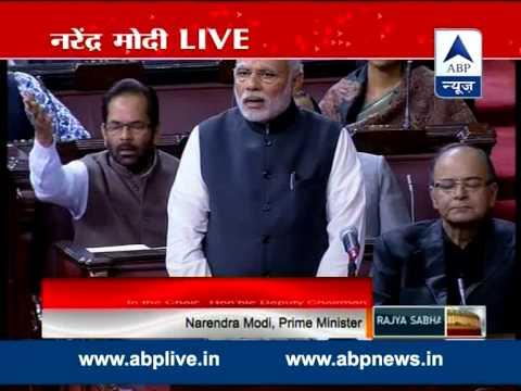 Request opposition to accept Sadhvi's apology, says PM Modi in Rajya Sabha