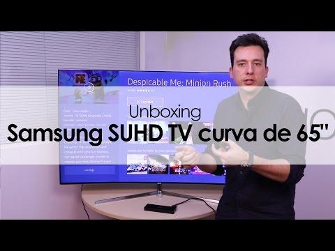 Samsung SUHD TV curva de 65
