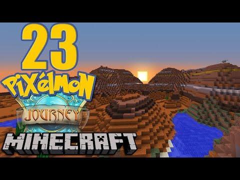 Pixelmon Journey #23 - Soutěž - Biom Výzva (Mesa)