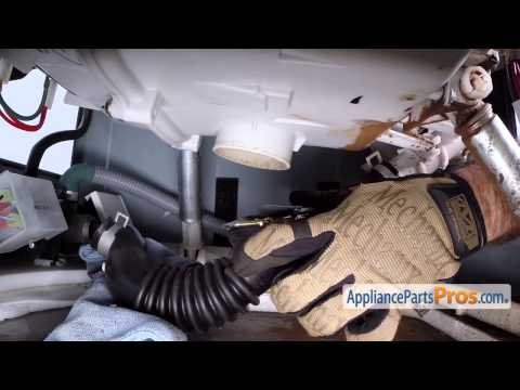 Washer Tub to Pump Hose (part #4738ER1002A) - How To Replace
