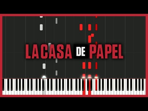 My Life Is Going On - La Casa de Papel (Intro Theme) [Piano Tutorial] // Mr.Meeseeks Piano