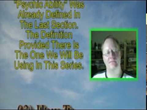 FOPTV: 03) How To Know If You Have Psychic Ability