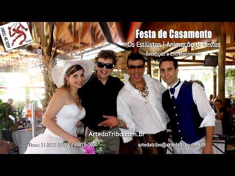 Arte da Tribo - Animação para Casamento - Os Estilistas - (11) 3222-5550 / 98875-7030