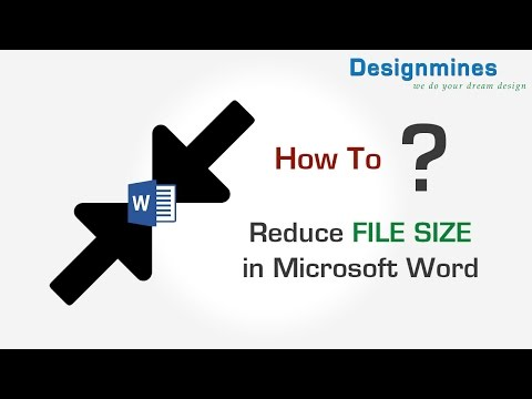 Compress Image Size to Reduce File Size in Word 2007