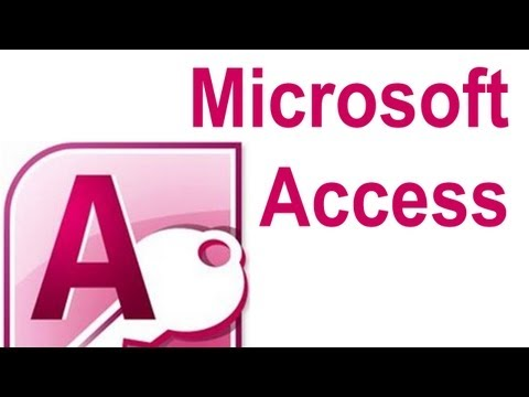 Microsoft Access Basics Tutorial 2 - Data Tables