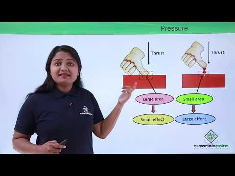 Class 9th Physics - GRAVITATION - Thrust and pressure