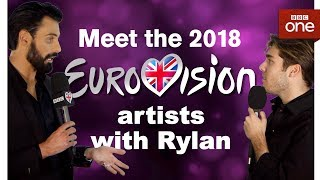 Meet the Eurovision 2018 artists with Rylan: Part Two - BBC One