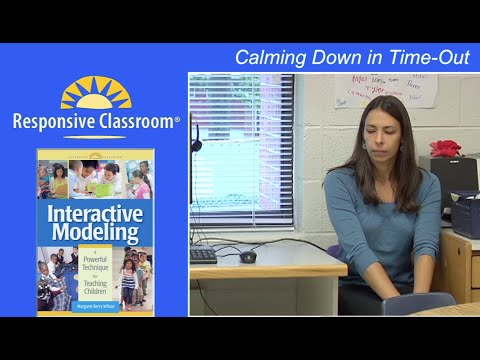 Calming Down in Time-Out (Interactive Modeling)
