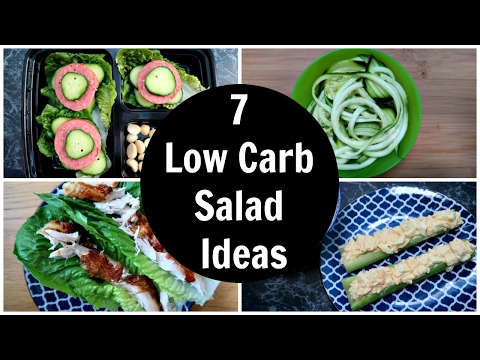 7 Low Carb Salad Ideas - A Week Of Easy Keto Diet Salad Recipes