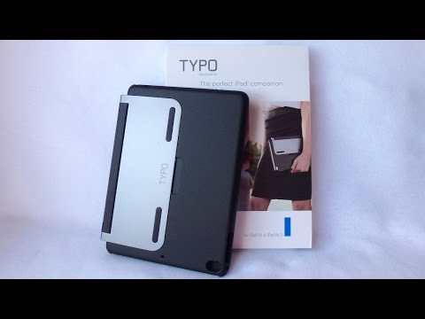 Typo Keyboard Case for iPad Air and Air 2: Nice, and not as Pricey!