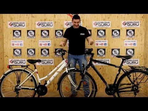 Trekking kerékpár - kerékpár típus - bemutatás, tippek