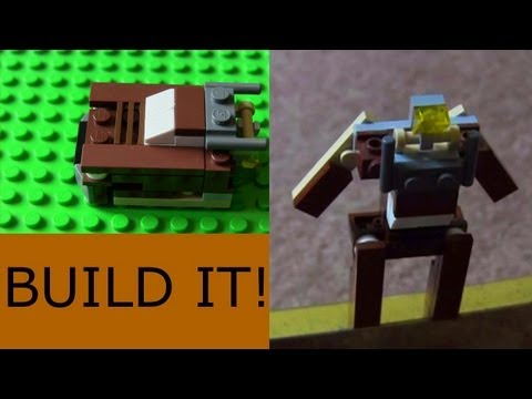Lego Transformer: Mini Car Tutorial (