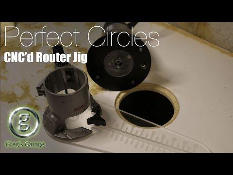 Insane Router Circle Cutting Jig