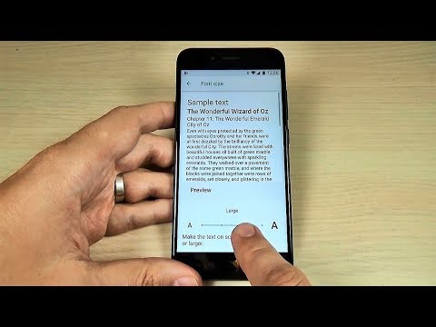 How to GET LARGER TEXT on Xiaomi Mi A1