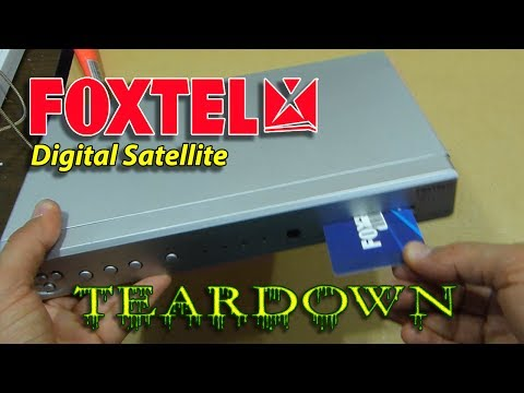 Teardown: Foxtel Digital Satellite Receiver Set-Top-Box DS250NF